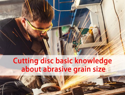 Cutting disc basic knowledge about abrasive grain size