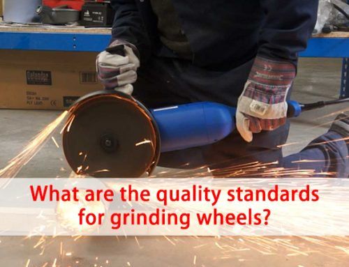 What are the quality standards for grinding wheels?